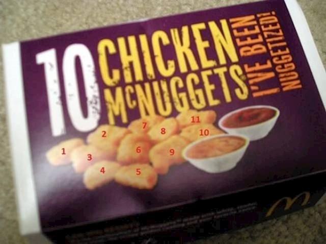 Htjeli su da izgleda kao da je u kutiji više mesa...