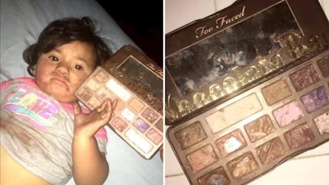 Imalo je miris čokolade pa je bila uvjerena da je to stvarno čokolada... Evo što je mama vidjela kad je ušla u sobu.