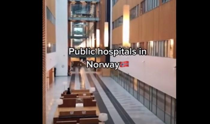 Netko je snimio kako izgleda tipična bolnica u Norveškoj, internet je u šoku