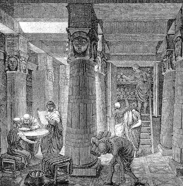 Ne zaboravite, netko je nekad odlučio zapaliti knjižnicu u Aleksandriji