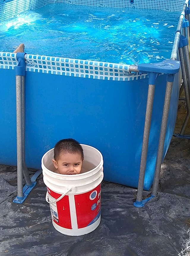 Imamo bazen, ali izgleda da je kanta veći hit