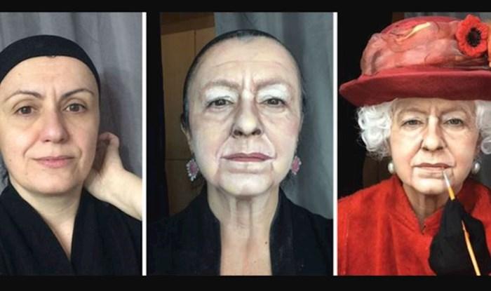 Nevjerojatna moć šminke! Ova žena može se transformirati u bilo koju osobu
