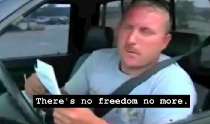 Svi dijele ovaj video iz 80-ih kad je uvedena obaveza vezanja pojasa u vožnji