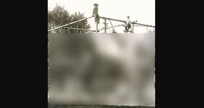 Morate vidjeti kako je izgledalo dječje igralište 1900. godine; danas je takvo što nemoguće