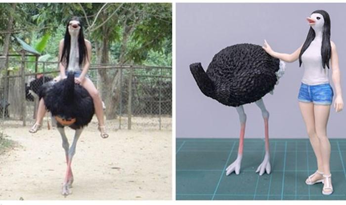 Japanski umjetnik pretvara smiješne fotke životinja u skulpture, bolje su nego što zvuči