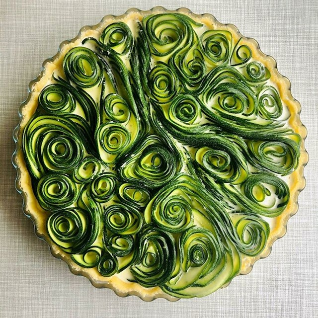 Domaći Zucchini Quiche