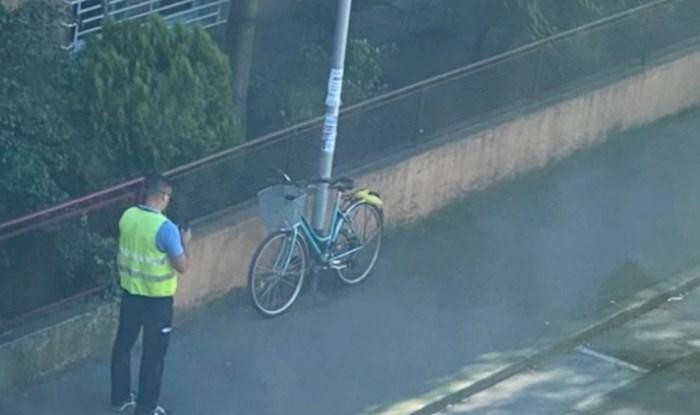 Fotka iz Zagreba posvađala ekipu na Facebooku: Redari sada naplaćuju kazne i parkiranim biciklima?