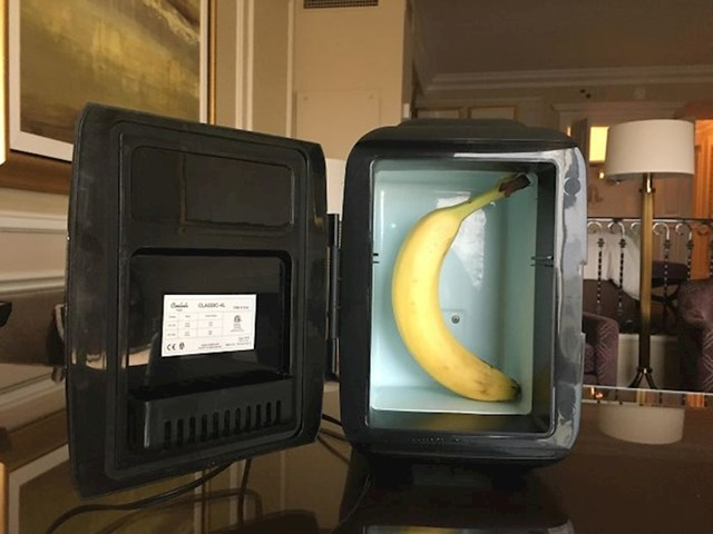 Mini hladnjak je stvarno mini
