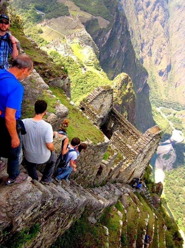Ovako izgleda spuštanje s Machu Picchua