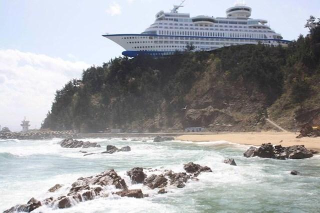 Hotel u obliku broda u Južnoj Koreji