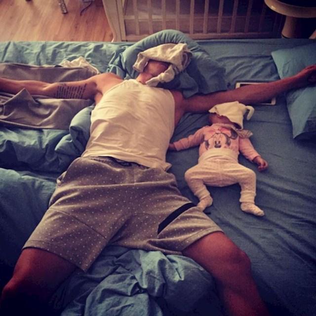 spavaj dok beba spava