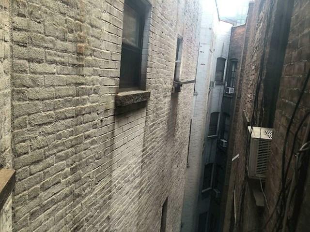 Pogled iz mog stana u New Yorku