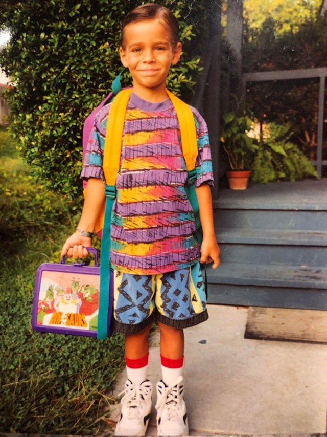 Moj prvi dan škole