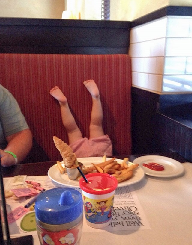 Izveo sam kćer na večeru