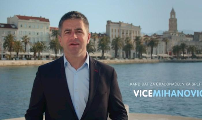 HDZ-ov kandidat za gradonačelnika Splita objavio je spot, satirična stranica ga brutalno poklopila