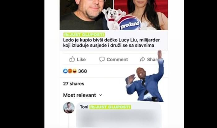 Facebookom se širi urnebesan komentar na vijest da je Ledo prodan bivšem dečku Lucy Liu