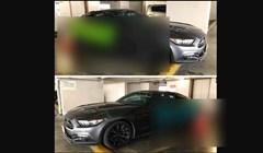 Morate vidjeti kako je lik osigurao novi automobil od udaraca na parkingu