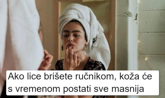 Mnogo ljudi ovo ne zna i u šoku su kad saznaju: Evo zašto lice nikad ne treba brisati ručnikom