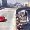 Širi se snimka jezive prometne nesreće: Nikome nije jasno kako je ovo uspio
