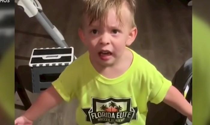 Morate vidjeti reakciju ovog dječaka kada je mama izašla, a nije ga poljubila