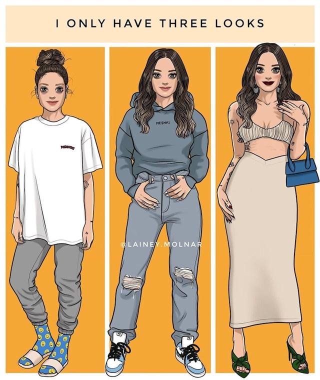 Tri izgleda svake žene