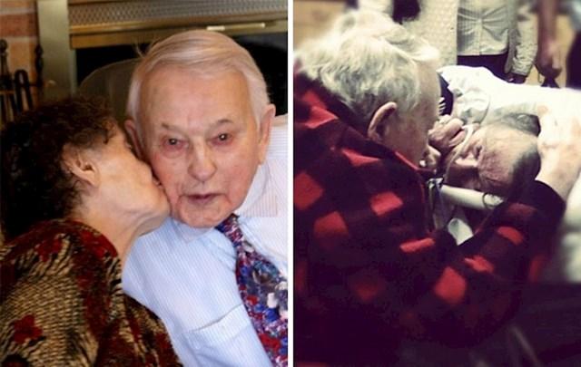 Pjevao joj je svaku noć prije spavanja. Trenutak prije nego je umrla, slušala ga je kako joj posljednji put pjeva. 70 godina prave ljubavi
