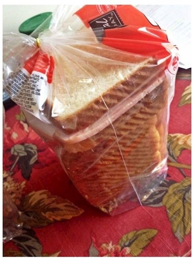 """""""10 minuta sam tražio svoj sendvič, a onda sam vidio ovo."""""""