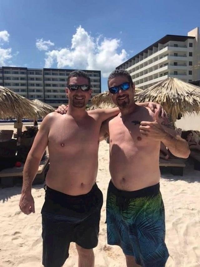 Tata je pronašao svog dvojnika na plaži na Jamajci