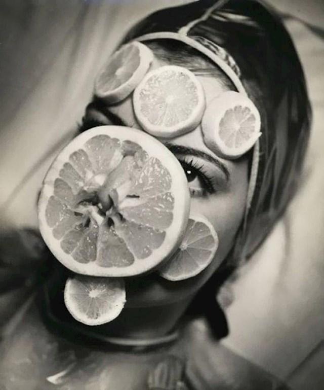 Maska s vitaminom C