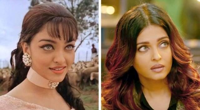 Aishwarya Rai s 23 i 44 godine