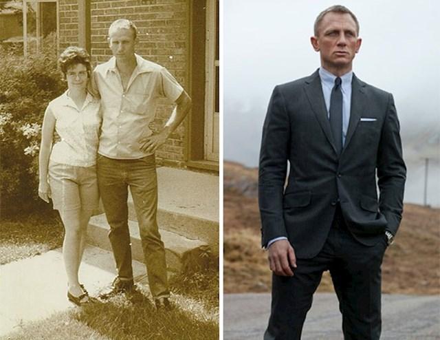 Djed i baka. Djed je isti James Bond