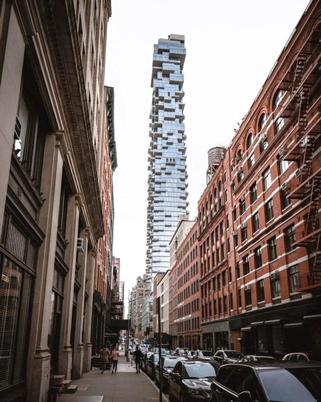 Ovaj neboder u New Yorku izgleda kao igra Jenga