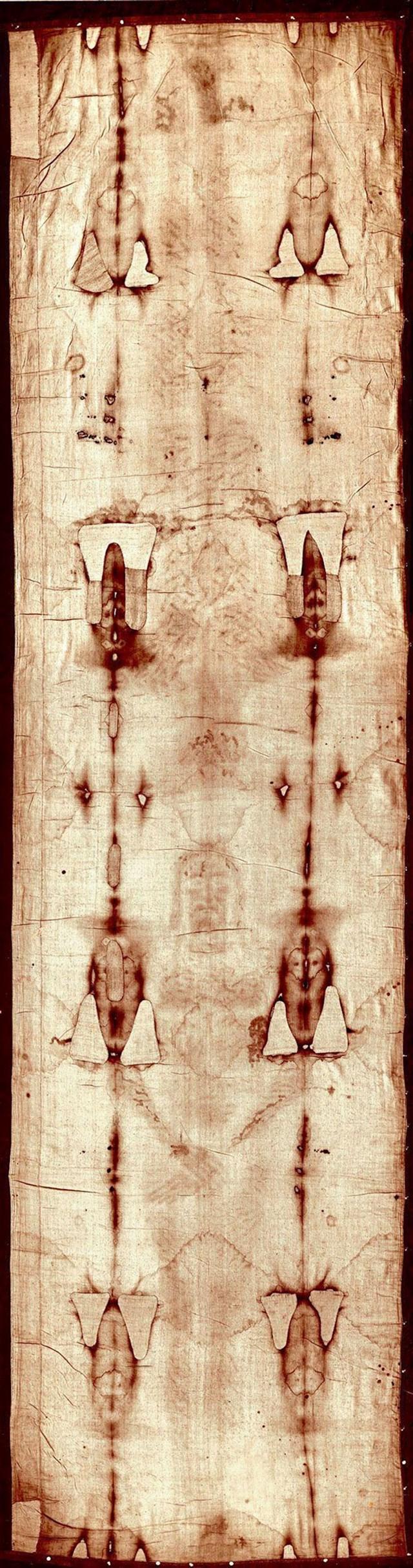 Na Torinskom platnu ne nalazi se obris Isusa Krista