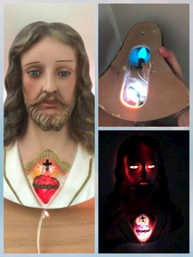 """Kupila je """"umirujuću"""" lampu Isusa"""