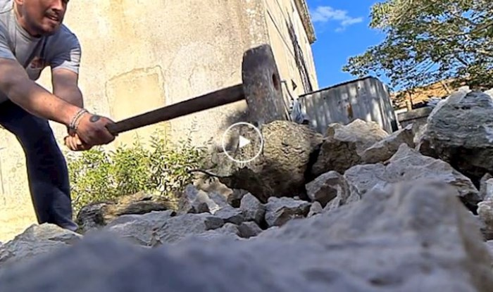 Ekipa iz Zadra pokušala je snimiti kako kamen puca u slow motionu. Pogodite što se dogodilo