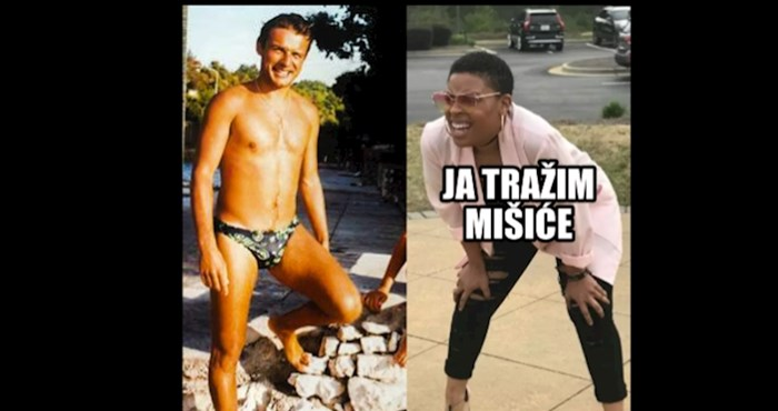 """Mišićavi"" Njonjo je i dalje glavna fora na Facebooku, evo najboljih reakcija"