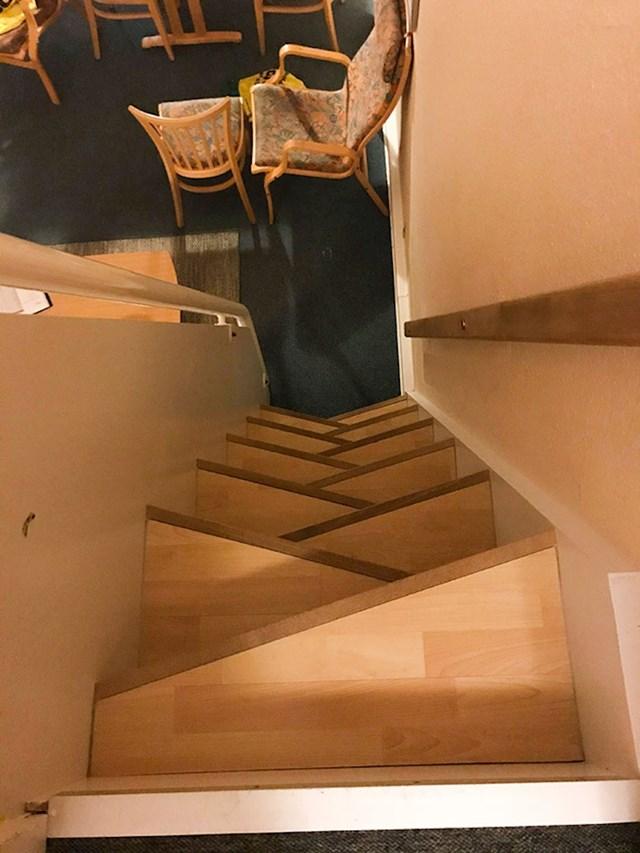 Ovo su stepenice