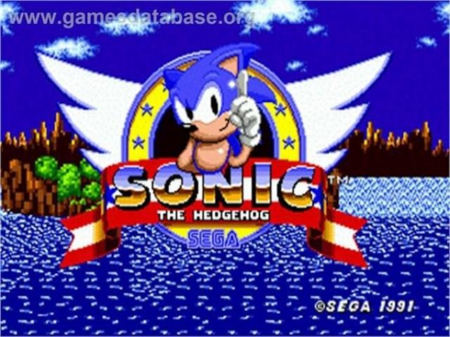 I, naravno, Sonic the jež!