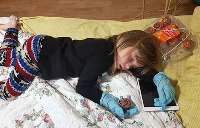 Ovako sam zatekla svoju kćer