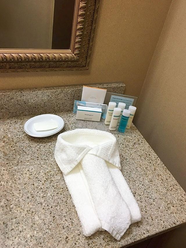 Ovako slažu ručnike u ovom hotelu za poslovnjake