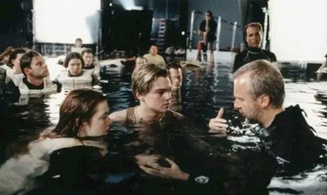 Ovako je snimana legendarna scena u Titaniku