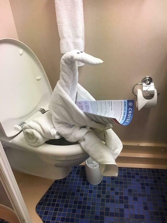 Ovako slažu ručnike u ovom hotelu