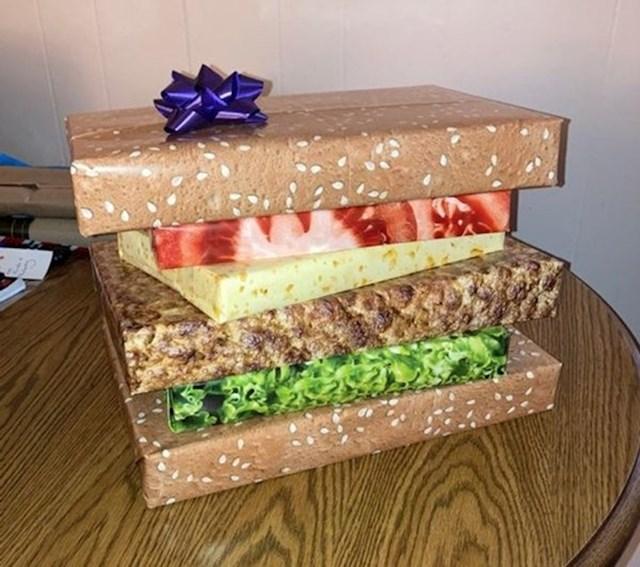 Rekla sam suprugu da će za Božić dobiti burger