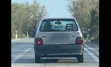Ovaj tip iz Pule definitivno ima smisla za humor, morate vidjeti što je zalijepio na auto