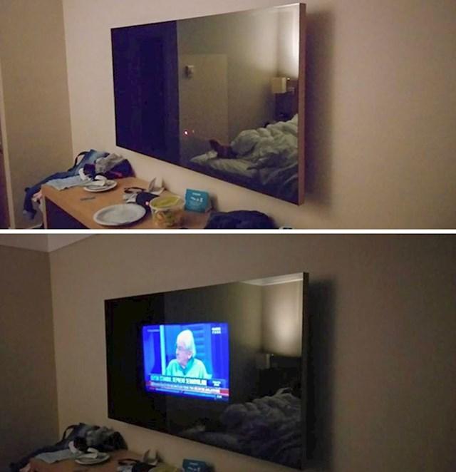 Soba s velikim TV-om