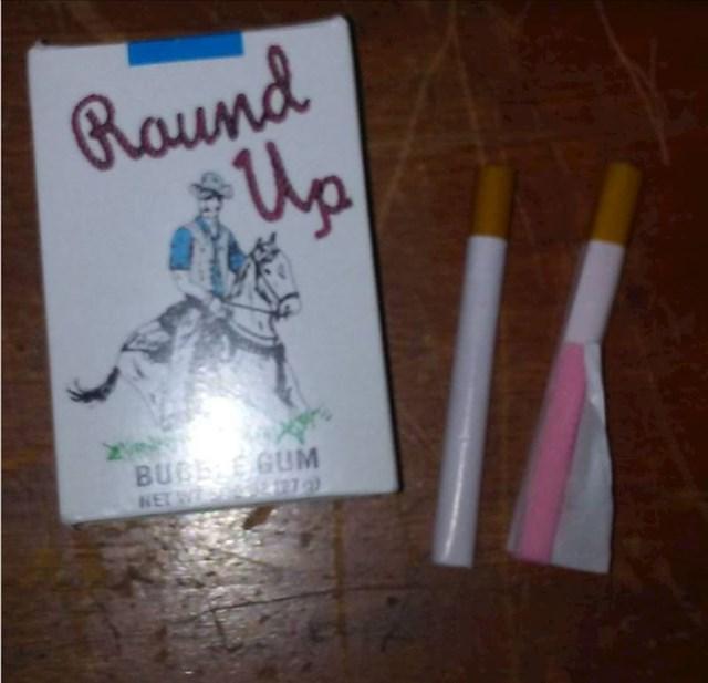 """Svi smo """"pušili"""" žvakače cigarete"""