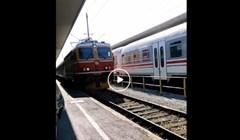 Netko je snimio dolazak HŽ-ovog vlaka na stanicu i to je najbolja stvar na internetu danas