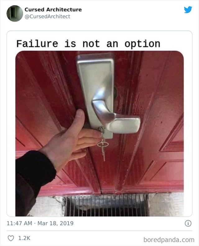 Čvrsto drži ključ!
