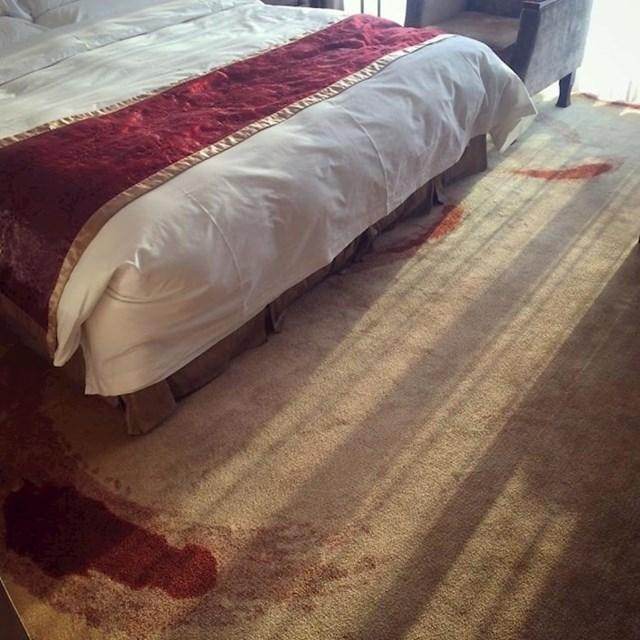 Tepih u ovom kineskom hotelu izgleda kao mjesto ubojstva