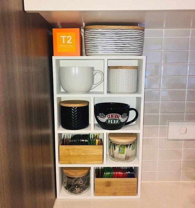 Savršeno posloženo sve što nam treba za šalicu toplog čaja